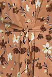 Платье летнее на запах  из вискозы в цветочный принт  Пейдж-Б к/р, фото 4