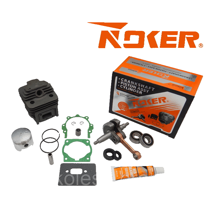 Поршневая + коленвал ( комплект ) 40 мм бензокосы ( NOKER )