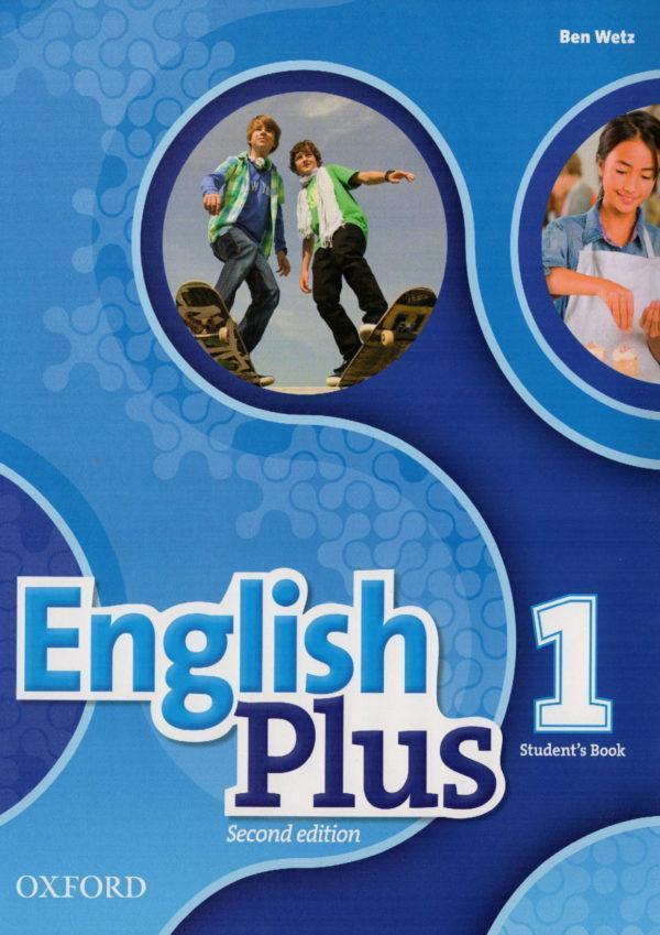 """Книга """"English Plus 2nd Edition 1 Student's Book"""" Английский для студентов"""