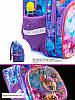 Рюкзак для девочки в 1-4 класс школьный ортопедическая спинка три отдела принт Олененок SkyName R3-230, фото 2