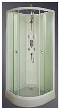 6025/90F без крыши 90х90 (15) - Гидромассажный бокс (гидробокс) KO&PO