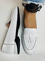 Ripka. Жіночі літні туфлі-балетки з перфорацією білого кольору. Туреччина. Розмір 36.37.38.39.40.Vellena, фото 3