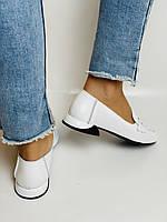 Ripka. Жіночі літні туфлі-балетки з перфорацією білого кольору. Туреччина. Розмір 36.37.38.39.40.Vellena, фото 8