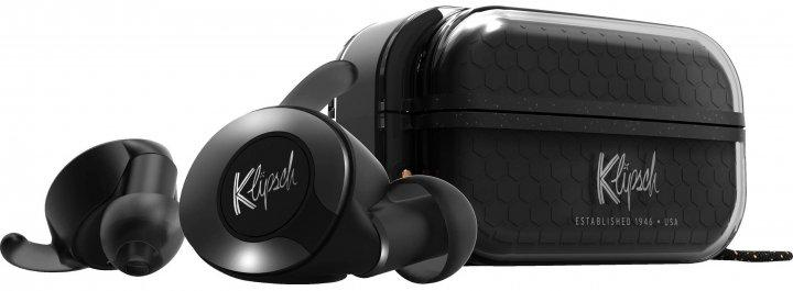 Бездротові навушники Klipsch T5 II True Sport Black Wireless