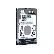 """HDD 2.5"""" SATA  500GB WD Black 7200rpm 32MB (WD5000LPLX) Refurbished"""