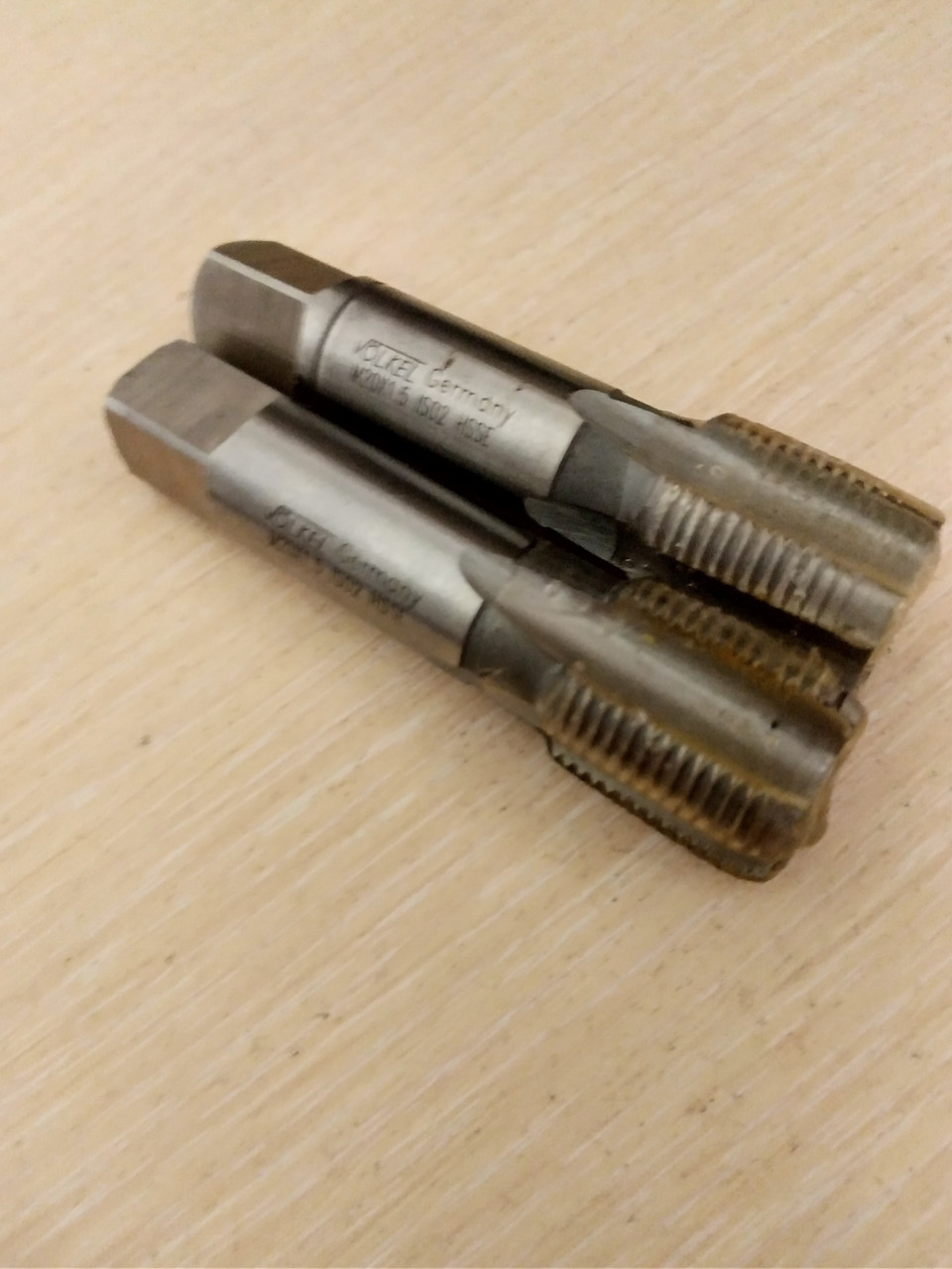 Мітчик м20*1.5 комплект