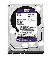 HDD SATA 3.0TB WD Purple 5400rpm 64MB (WD30PURZ) Refurbished