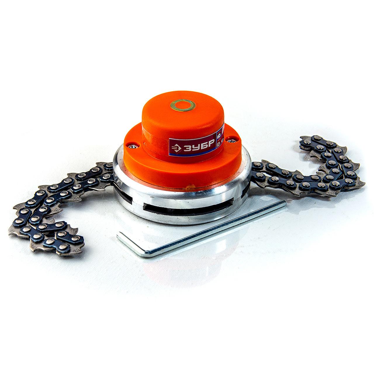 Катушка с цепью для триммера бензокосы Зубр