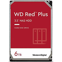 HDD SATA 6.0TB WD Red Plus 5400rpm 128MB (WD60EFZX)