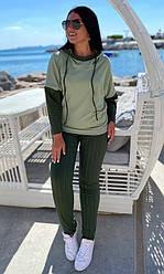 Спортивный костюм женский, батал  856485-1, 50-52, 54-56р.