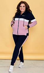 Спортивный костюм женский, батал  89188-1
