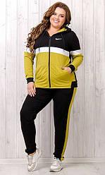 Спортивный костюм женский, батал  89188-4