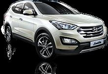 Багажник на дах авто Кенгуру Hyundai Santa fe 2012 - 2019