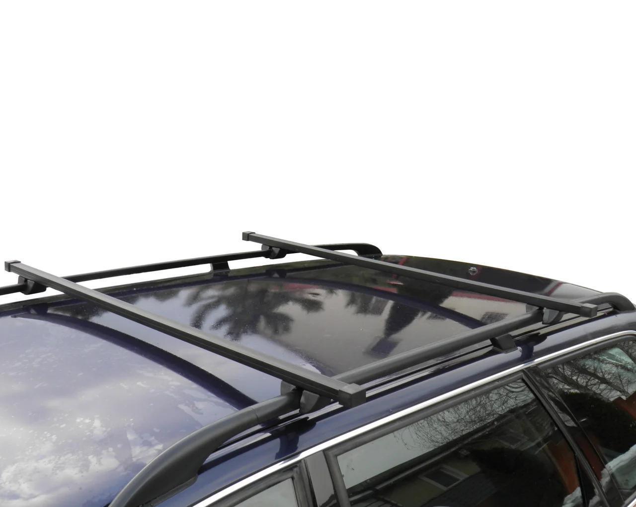 Багажник на дах авто Кенгуру Рейлінг Плюс 140см на рейлінги посилений