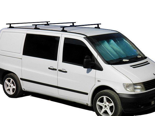Багажник на дах авто Кенгуру Мерседес Віто (Mercedes Vito) W638 1шт