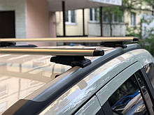 Багажник на крышу авто Кенгуру Jeep Compass (Джип Компасс) на интегрированные рейлинги