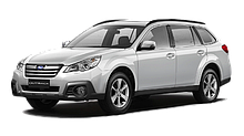 Багажник на дах авто Кенгуру Subaru Outback BP 2003-2009, BR 2009 - 2011