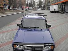 Багажник на дах авто Кенгуру Уні Плюс 160см на водостоки посилений
