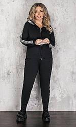 Спортивный костюм женский, батал  830972-3