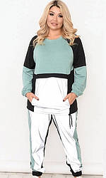 Спортивный костюм женский, батал  830741-1