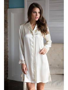 """Рубашка """"Кристи"""" 15114 S шампань (15114 - Женская домашняя одежда)"""