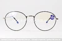 Компьютерные очки круглые. Защита от синего спектра, фото 1