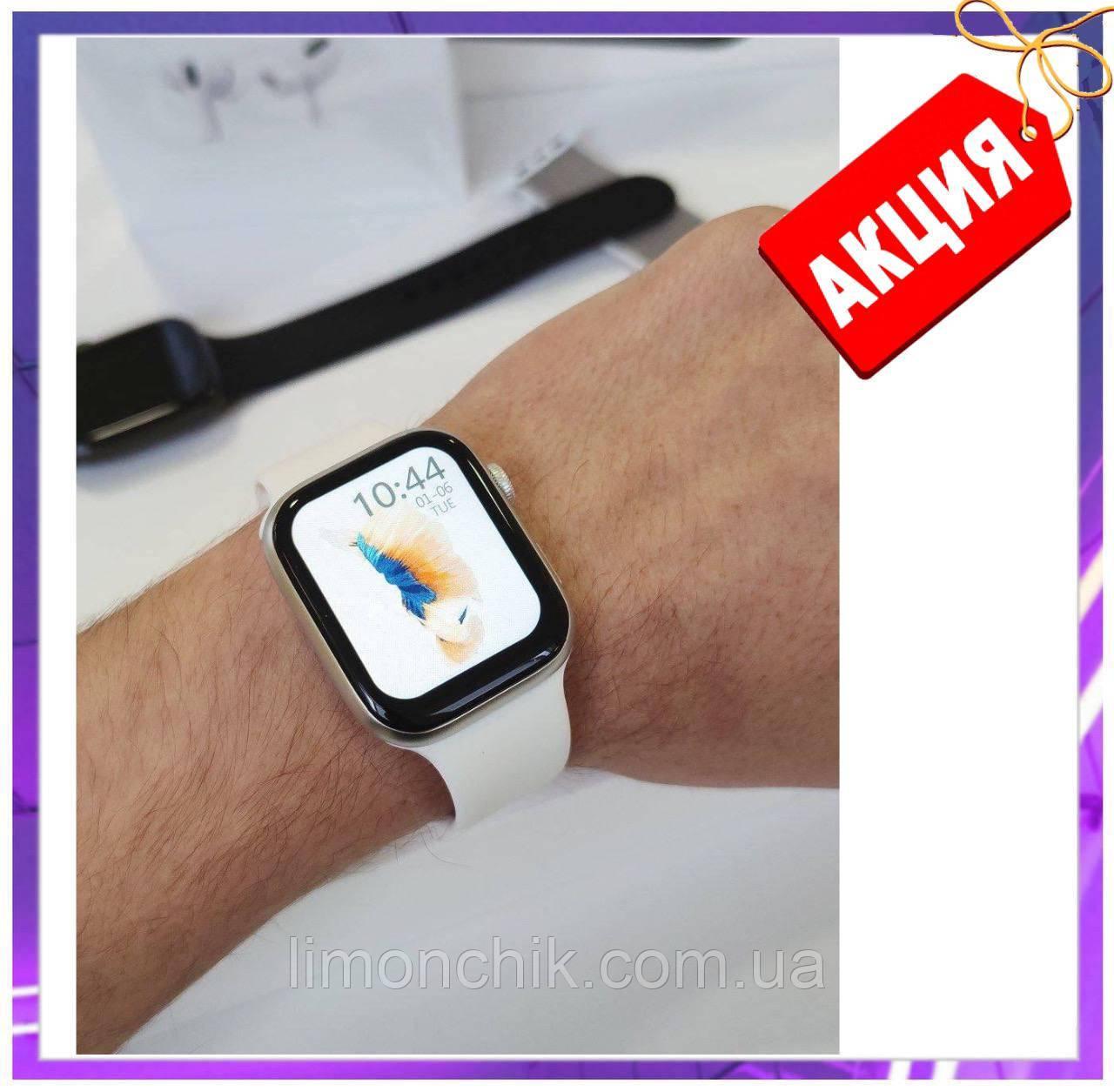 Розумні смарт годинник Smart Watch FK-88 сенсорні наручні пульсометр шагометр фітнес трекер білі