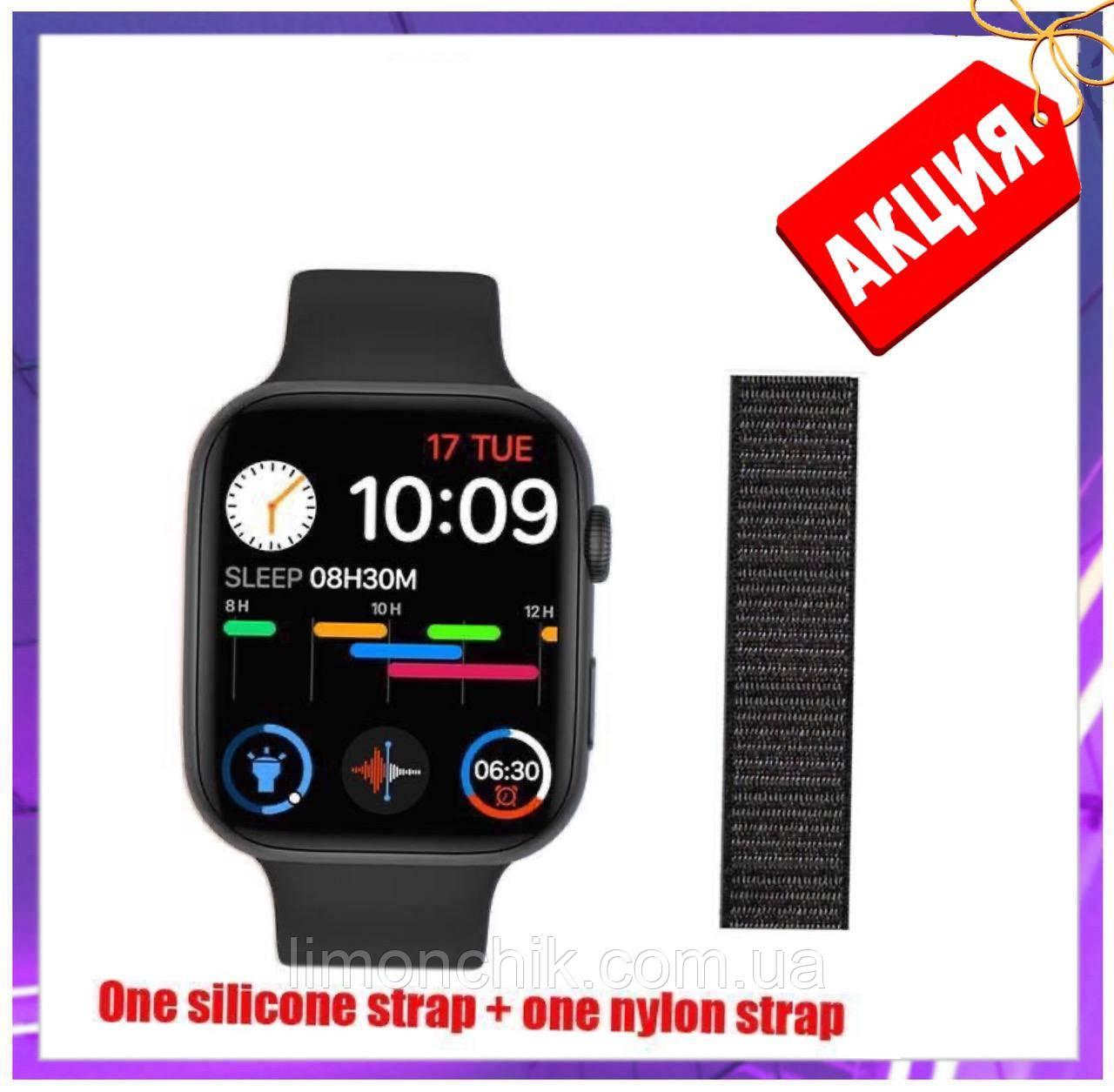 Розумні смарт годинник Smart Watch FK-88 сенсорні наручні пульсометр шагометр фітнес трекер чорні