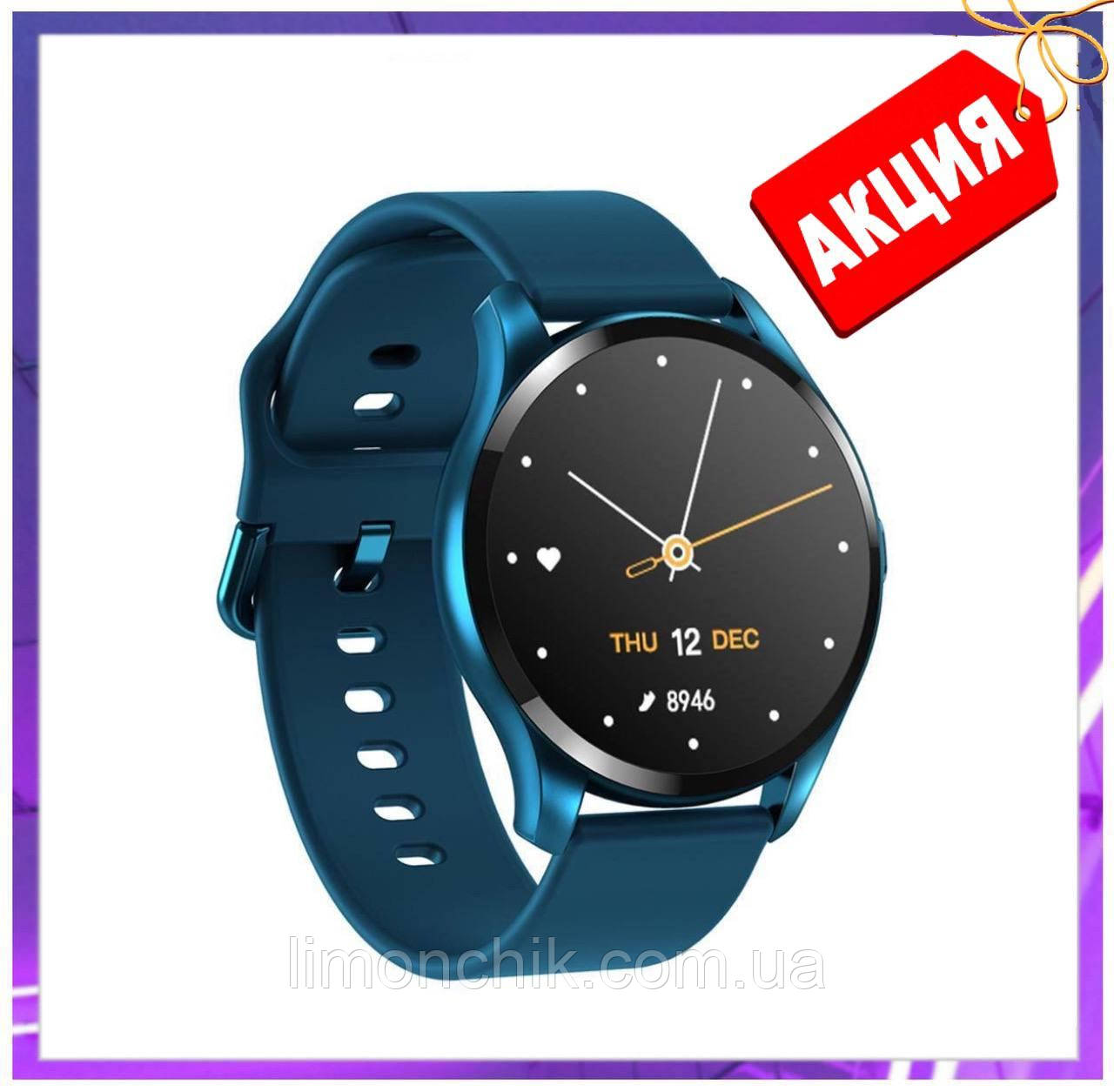 Смарт часы умные Smart Watch T88 с датчиком пульса и давления сенсорные наручные часы фитнесс-трекер унисекс