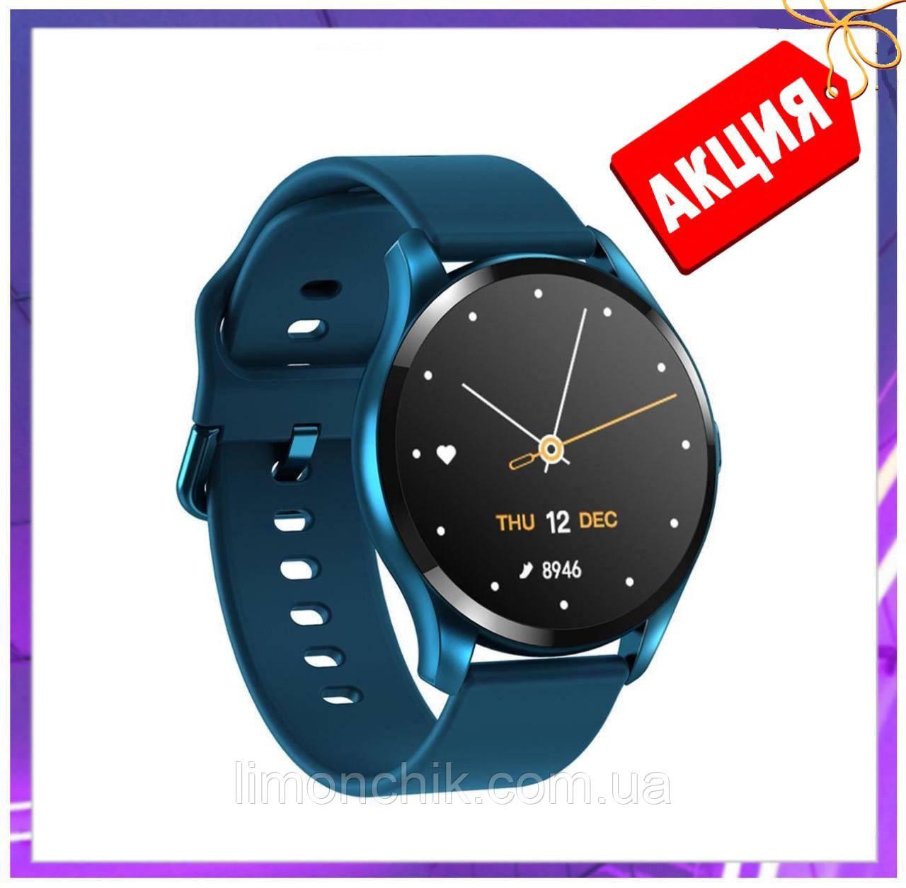 Смарт розумні годинник Smart Watch ZX-02 жіночі з датчиком пульсу і тиску сенсорні наручний годинник фітнес-трекер