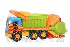 Набор для игры с песком - Самосвал, 9 деталей/ TM Same Toy, 1+