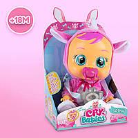 Кукла, интерактивный пупс плакса Саша носорог Cry Babies Sasha The Rhino Baby IMC Toys