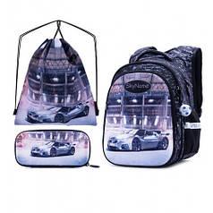 Рюкзак школьный для мальчиков SkyName R1-015 Full Set