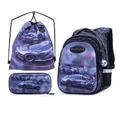 Рюкзак школьный для мальчиков SkyName R1-016 Full Set