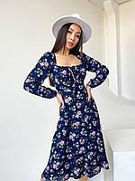 Красивое весеннее платье