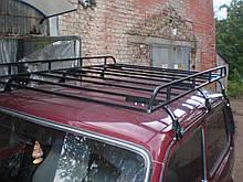 Грузовая корзина на крышу авто Нива, Волга - Десна-Авто ГК-3 1500х1200мм (неразборная)