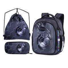 Рюкзак школьный для девочек SkyName R4-406 Full Set