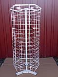 Настільна металева вертушка для продажу окулярів 90 місць від виробника, фото 2