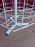 Настільна металева вертушка для продажу окулярів 90 місць від виробника, фото 3