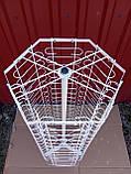 Настільна металева вертушка для продажу окулярів 90 місць від виробника, фото 4