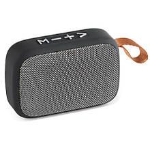 Колонка портативная Tablepro MG2-1 с FM-приемником и Bluetooth  (Grey)
