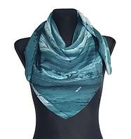 Легкий платок Eripek Кейси 95*95 см бирюзовый