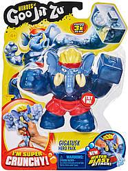 Goo Jit Zu Dino GIGATUSK Стретч-антистрес Гігатаск слон ігрова фігурка (41044)