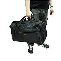 Дорожная сумка средняя на 61 л Airtex черного цвета, фото 1