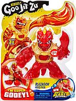 Goo Jit Zu Water Blast Стретч-антистрес Блейзагон дракон игровая фигурка (41040)
