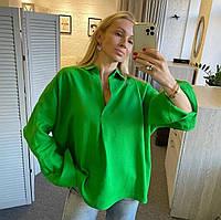"""Сорочка жіноча стильна лляна, розмір 42-50 (4кол) """"ANIKA"""" купити недорого від прямого постачальника"""