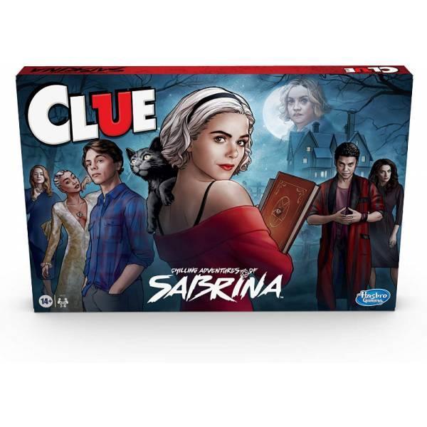 Hasbro Настольная игра Клуедо приключения сабрины E9723 Adventures of Sabrina Edition Board Game Clue
