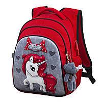 Рюкзак школьный для девочек Winner One R2-165