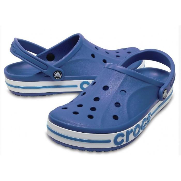 Мужские кроксы Crocs Bayaband Clog синие 44 р.