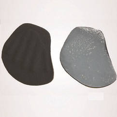 Силиконовые метатарзальные вкладки с тканевым покрытием -Ersamed SL-509K